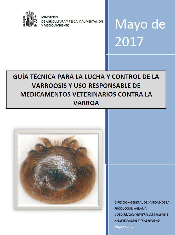 Guía control de la Varroa Ministerio de agricultura. España 2017