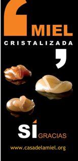 Miel cristalizada Tenerife